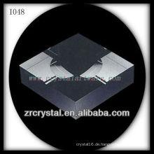 K9 Black Square Kristall Aschenbecher