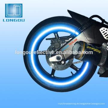 Fahrrad reflektierendes Radband oder reflektierendes Band Motorradhelm