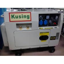 5kVA Protable Diesel Бесшумный сварочный генератор / генератор припоя / сварочный генератор / генератор припоя / дизельная сварка / дизельный двигатель припоя (KW6700)