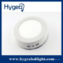 Brilho elevado 18W, redondo, superfície montada luz do painel conduzido