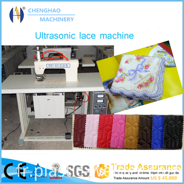 100mm Ultrasonic Lace Machine