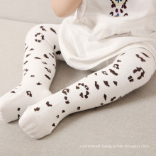 Baby Children Cotton Leopard Print Tights (TA608)