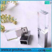 Personalizado logotipo Crystal Pen Memory Stick USB Flash Drive (EPT502)