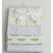 2015 nuevo productos algodón franela infantil Baby mantas de bebés