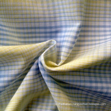 Cotton Yarn Dyed Shirting Fabric (QF13-0212)
