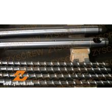 Einzelschnecke und Zylinder für die Becherproduktion