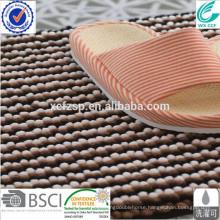 100% polyester microfiber extra long bath mat