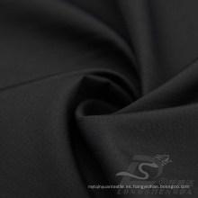 Resistente al agua y al aire libre ropa deportiva al aire libre chaqueta tejida Tejido Pongee Peach piel Plaid Jacquard 100% tela de poliéster (63032)