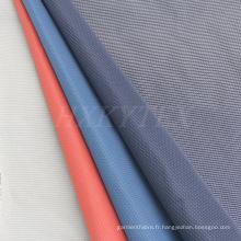 Dobby avec mémoire Polyester tissu de rayonne pour veste prénatale