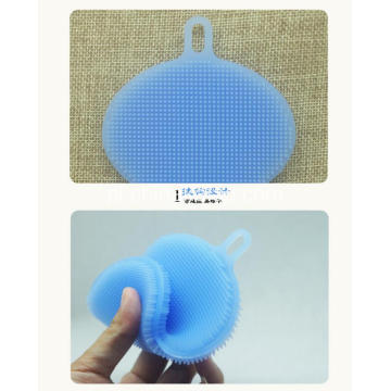Soft Silicone Brushes for Kitchen Fruit Bath Face