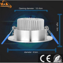 Exquisite Luxury Appearance Beautiful Energy-Saving Downlight with Ce