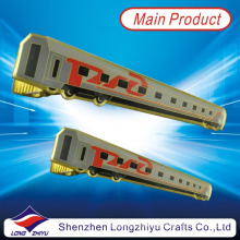 Train Design Bow Tie Clip Custom Made Tie Pin Tie Stick Pin for Men (lzy000163)