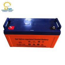 Bateria acidificada ao chumbo quente do gel do ciclo profundo quente do estilo 12v 200ah para a venda por atacado