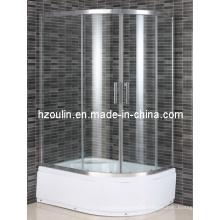 Ducha de vidrio templado certificado CE (E-22L)