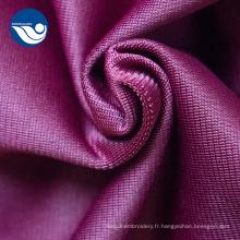 tissu en tricot de poly velours à boucle