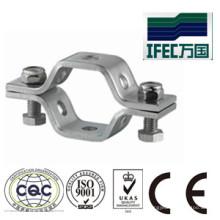 Aço inoxidável 304 / 316L titulares de tubos quadrados