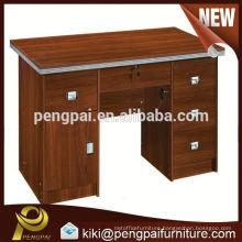 cheap 1.2m cherry wooden melamine office desk/table