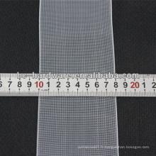 Ruban à rideau transparent 80 mm, bande de rideau en nylon