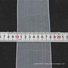 80mm transparent curtain tape,nylon curtain tape