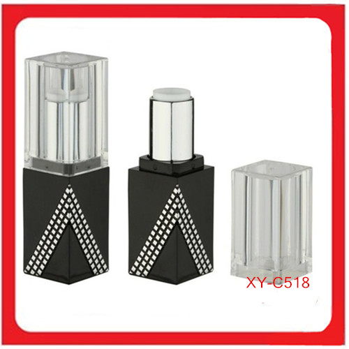 Custom Square Lipstick Tube Packaging