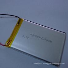 Batterie rechargeable Li-ion Li-Polymer 606090 Batterie 3.7V 4000mAh