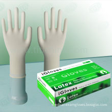 Non-sterile Medical Disposable Milky White Powder Free Latex Gloves For Examination Use/aql1.5