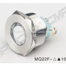 CMP indicator lamp stainless steel waterproof IP67 22mm blue led pilot light