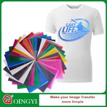 Qingyi gros paillettes chaleur presse vinyle pour vêtements