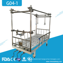 G04-1 Hospital Furniture Orthopedic Therapy Traction Bed With Lumbar