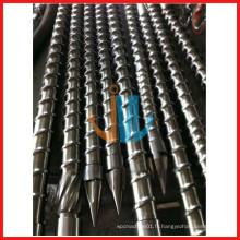 vis d'injection et baril pour machine en plastique