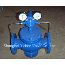 Pilot Piston Type Carbon Steel Gas Reducing Valve