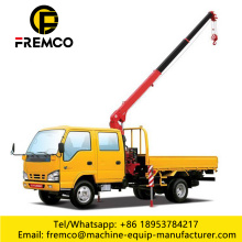 Straight Boom Lorry Crane Capacity 3.2 Ton