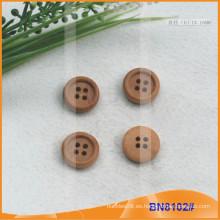 Botones de madera natural para la prenda BN8102