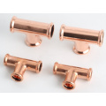 Copper press fitting,copper pipe fitting for gas system
