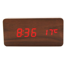 Creative Modern Alarm Clock, Fashion Wood Clock Bell Students