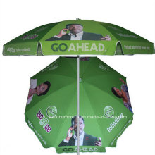 Outdoor Windproof with Fringe Beach Umbrella