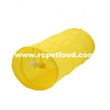 Collapsible foldable pet cat toys tunnel