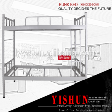 alibaba express china metal triple bunk bed for sale