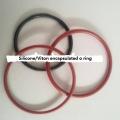 Pump valve silicone FEP PFA encapsulated o-rings seals