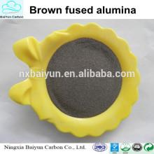 High purity brown corundum for blasting abrasive