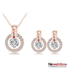 Newest Pendant&Earring Wedding Jewelry Sets (ST0017-A)