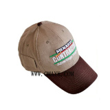 Cotton Baseball Cap with Pocket (OKM01-0023)