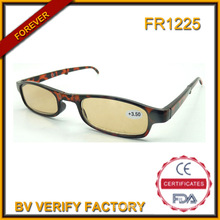 Fr1225 Wholesale Cheap Foldable Reading Glasses with Fashion Case