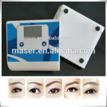 Mini fuente de alimentación permanente del maquillaje, fuente permanente del dispositivo de la energía del maquillaje de la ceja