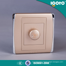 Igoto British Standard Fan Speed Control Wall Switches