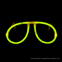yellow Glow Stick Glasses