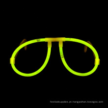 Óculos de fulgor amarelo