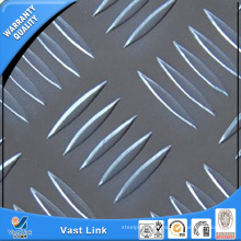 5052 H32 placa de xadrez de alumínio
