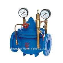 Presión de hierro dúctil reducir (PRV) de la válvula de agua (200 X)