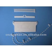 Componentes cego vertical-100 milímetros espaçador de plástico para portadores de persianas verticais, acessórios cegos
